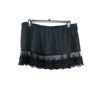 Other - Black with Lace T-shirt Extender